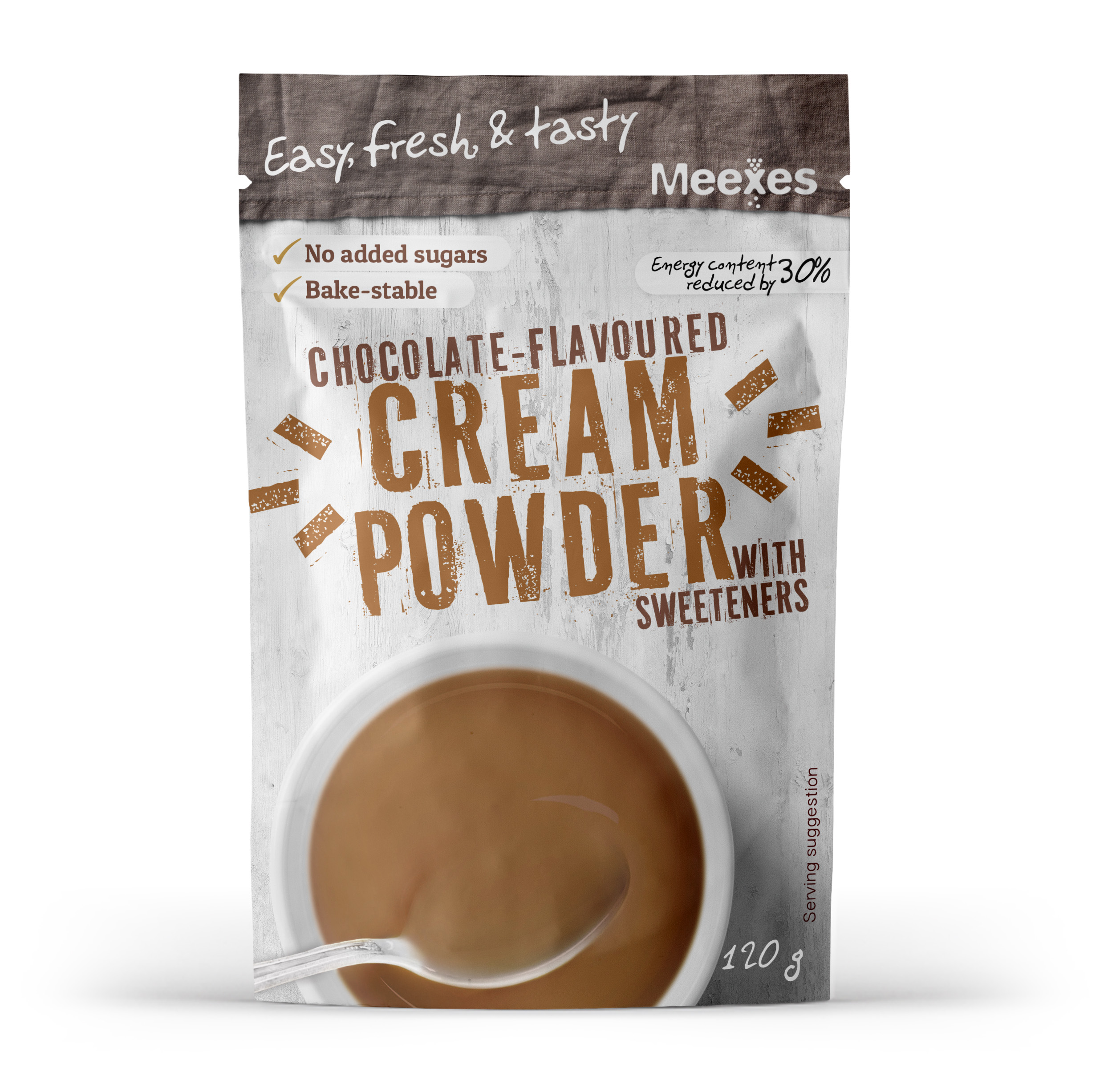 meexes CREAM POWDER chocolate 70x110