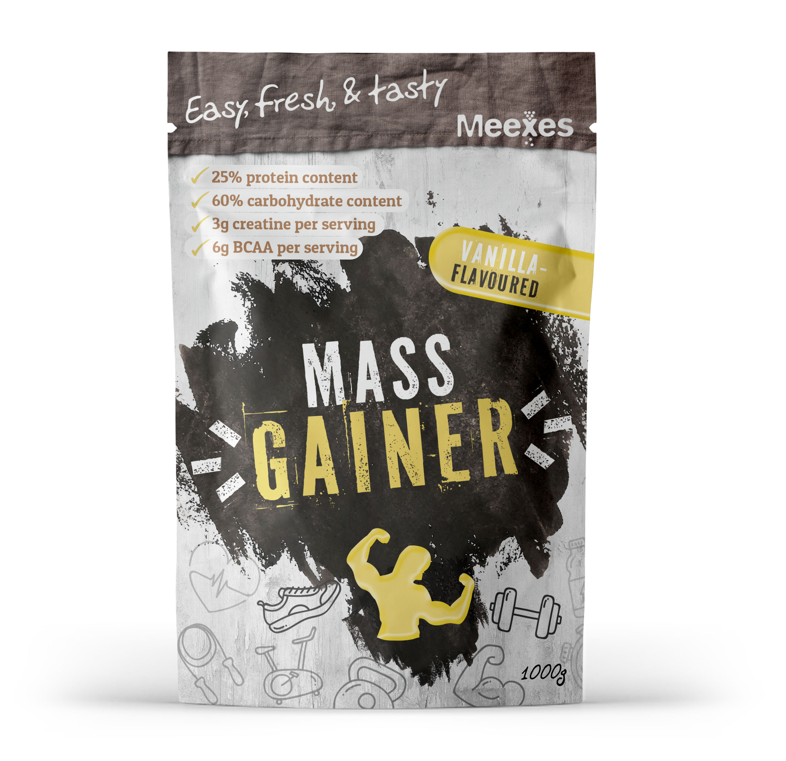 meexes MASS GAINERS vanilla 70x110