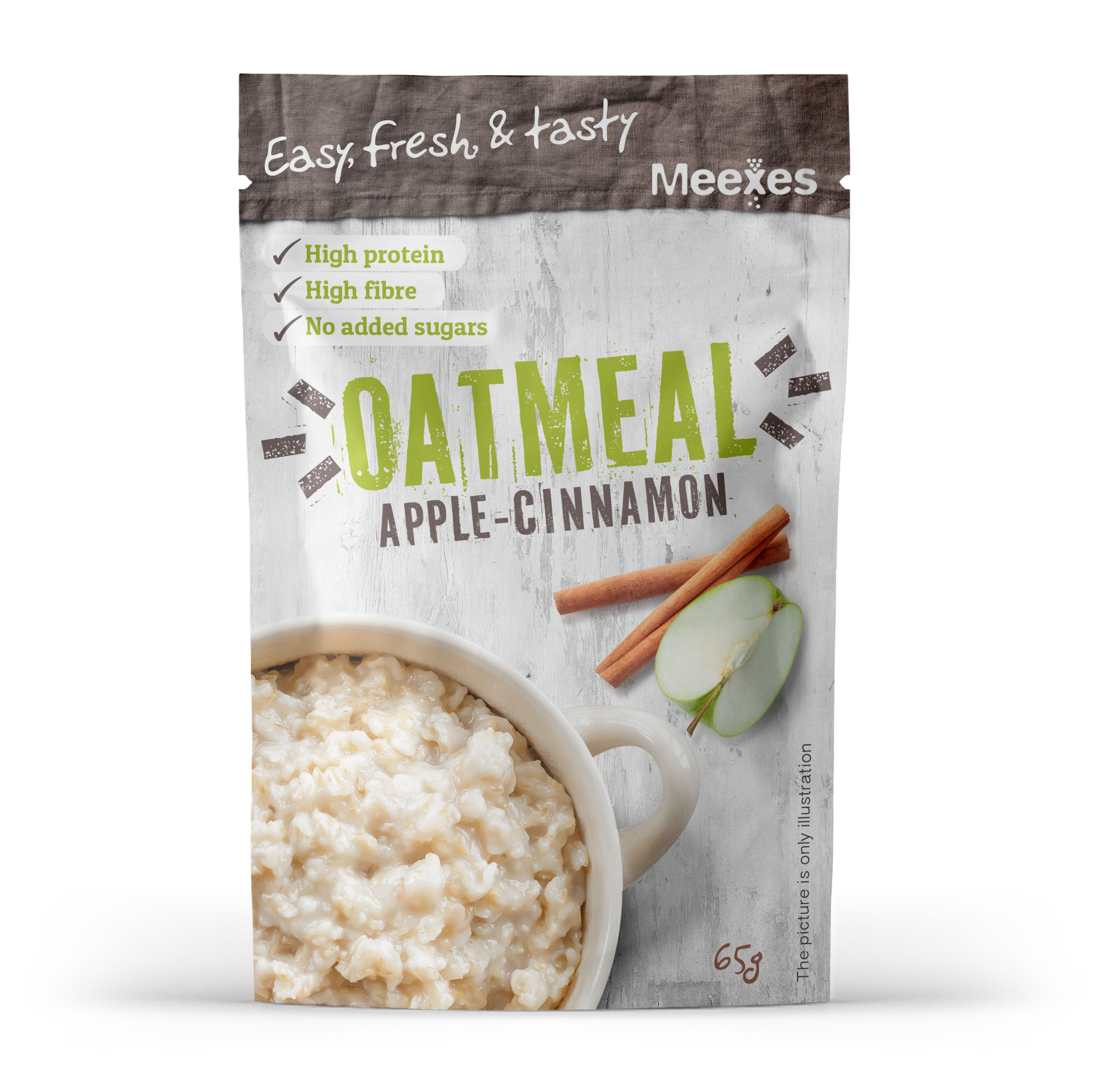 meexes OATMEAL applecinnamon 70x110