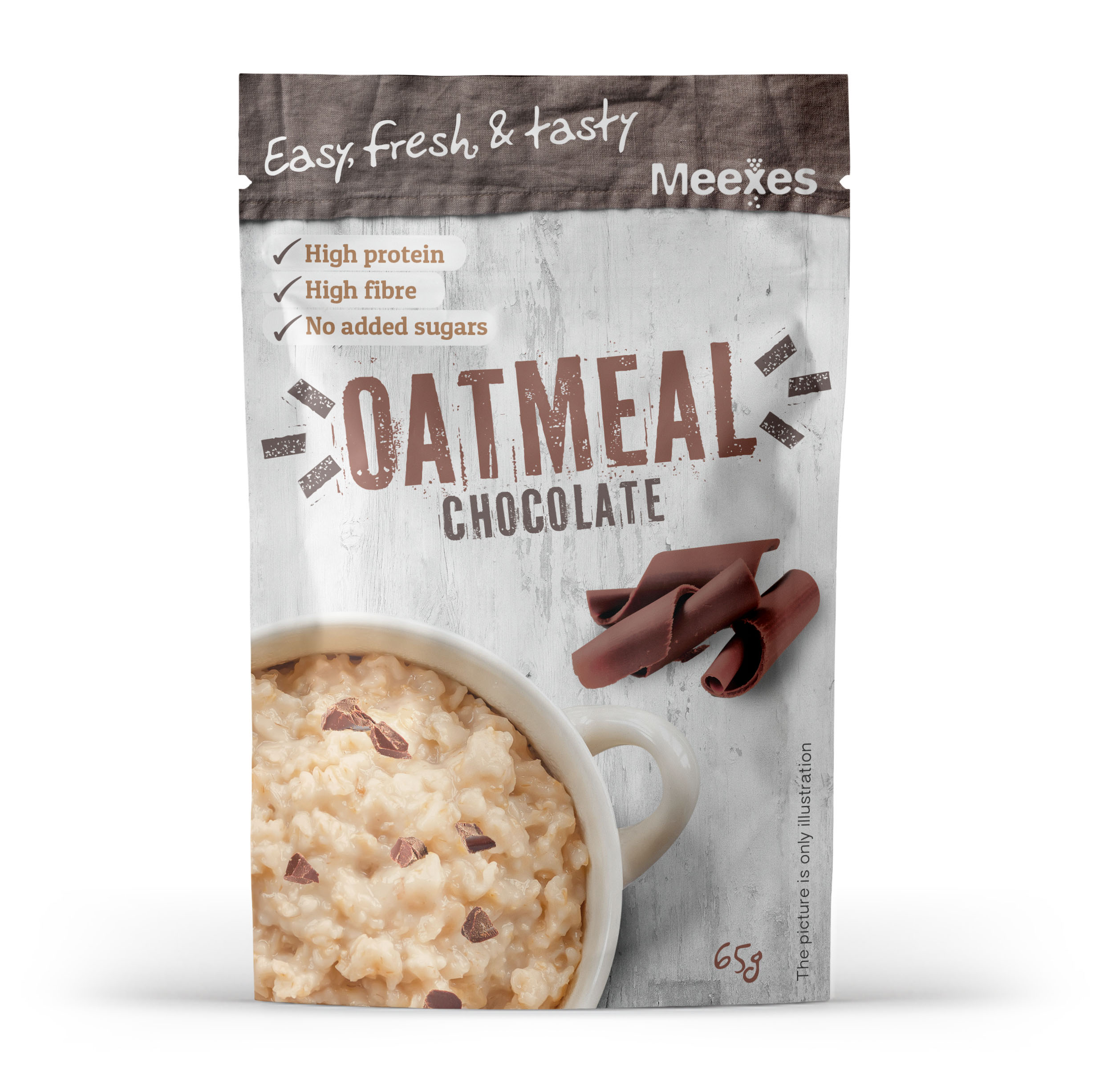 meexes OATMEAL chocolate 70x110