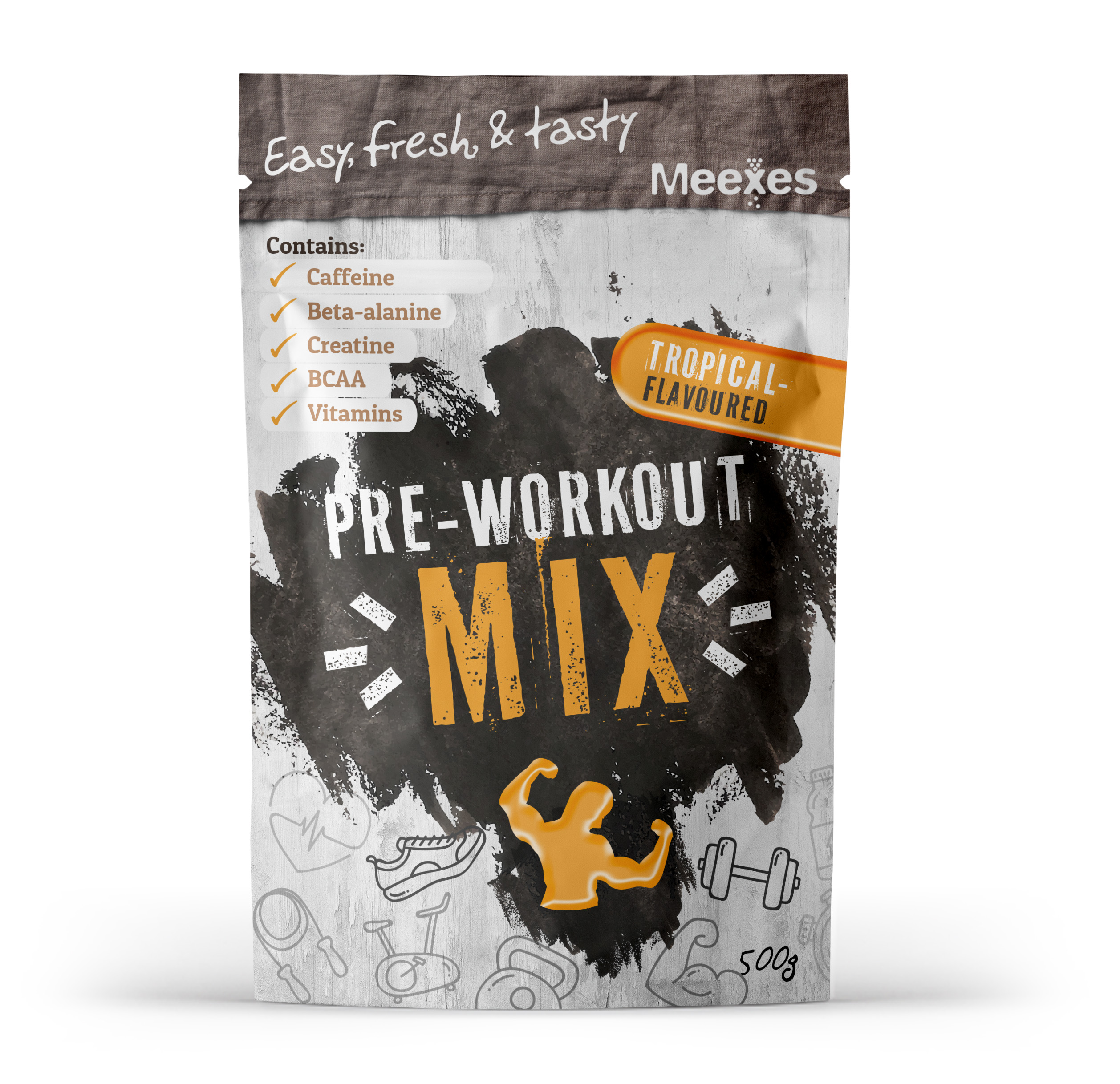 meexes PREWORKOUTMIX tropical 70x110